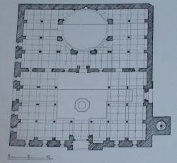 Anatolia-Manisa-grand-mosque-Isa-Beg-1376-78.JPG
