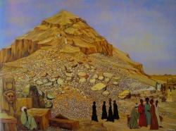 hiver egyptien 1982-97x130cm
