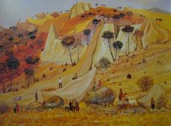 la colline brulee 1965-114x146cm