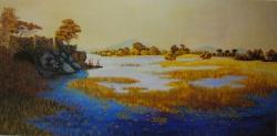 le lac de Killarney 1985-97x195cm