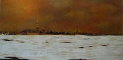souvenir de Leningrad 1985-50x100cm