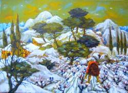Neige en Terménès