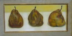 Peinture en forme de poires