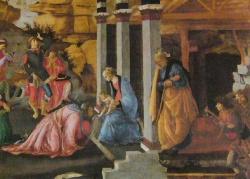 Adoration des Mages (detail)