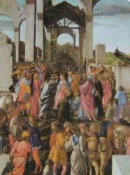 Adoration des Mages (tondo)