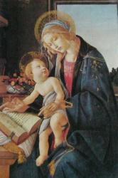 Marie au livre