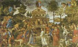 Chapelle Sixtine, tentation du Christ
