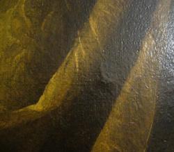 FG83 - soulèvement d'écailles de peinture