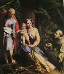 Fuite en Egypte, Saint Francois, Uffizi, Firenze