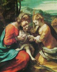 Mariage mystique de sainte Catherine, Naples, Capodimonte