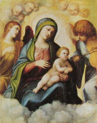 Marie, anges et cherubins, Firenze, Uffizi