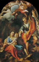 Marie à l'ecuelle, Parma, galleria
