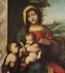 Marie et saint Jean, Milan, castello Sforzesco