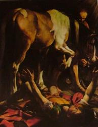 Conversion de saint Paul, santa Maria del popolo, Roma