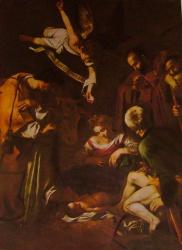 Nativité et les saints François et Laurent, san Lorenzo, Palermo