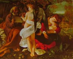 Repos pendant la fuite en Egypte, Galeria Doria Pamphili, Roma