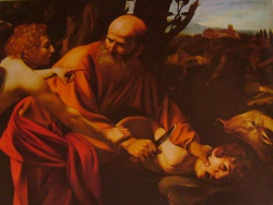 Sacrifice d'Isaac, Uffizi, Firenze