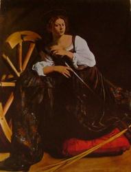 Sainte Catherine, Collection Thyssen, Lugano