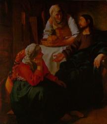Jésus chez Marthe et Marie, National Gallery, Edimburgh