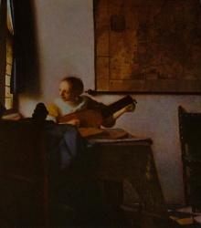 Joueuse de luth, Metropolitan museum, New York
