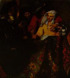 La courtisane, Gemäldegalerie, Dresde
