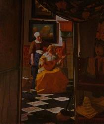 La lettre, Rijksmuseum, Amsterdam