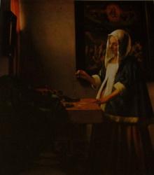 La peseuse de perles, National Gallery, Washington