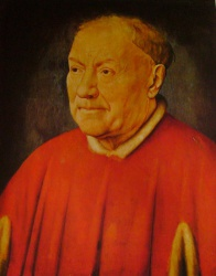 Cardinal Nicola Albergati, Kunsthistorisches Museum, Wien