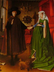 Les époux Arnolfini, National Gallery, London.
