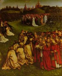 Polyptyque de l'Agneau Mystique, cathédrale saint Bavon de Gand