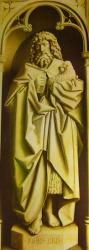 Polyptyque de l'Agneau Mystique, cathédrale saint Bavon de Gand (6).JPG