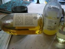 Standolie: huile de lin polymérisée, épaisse comme un sirop, non jaunissante